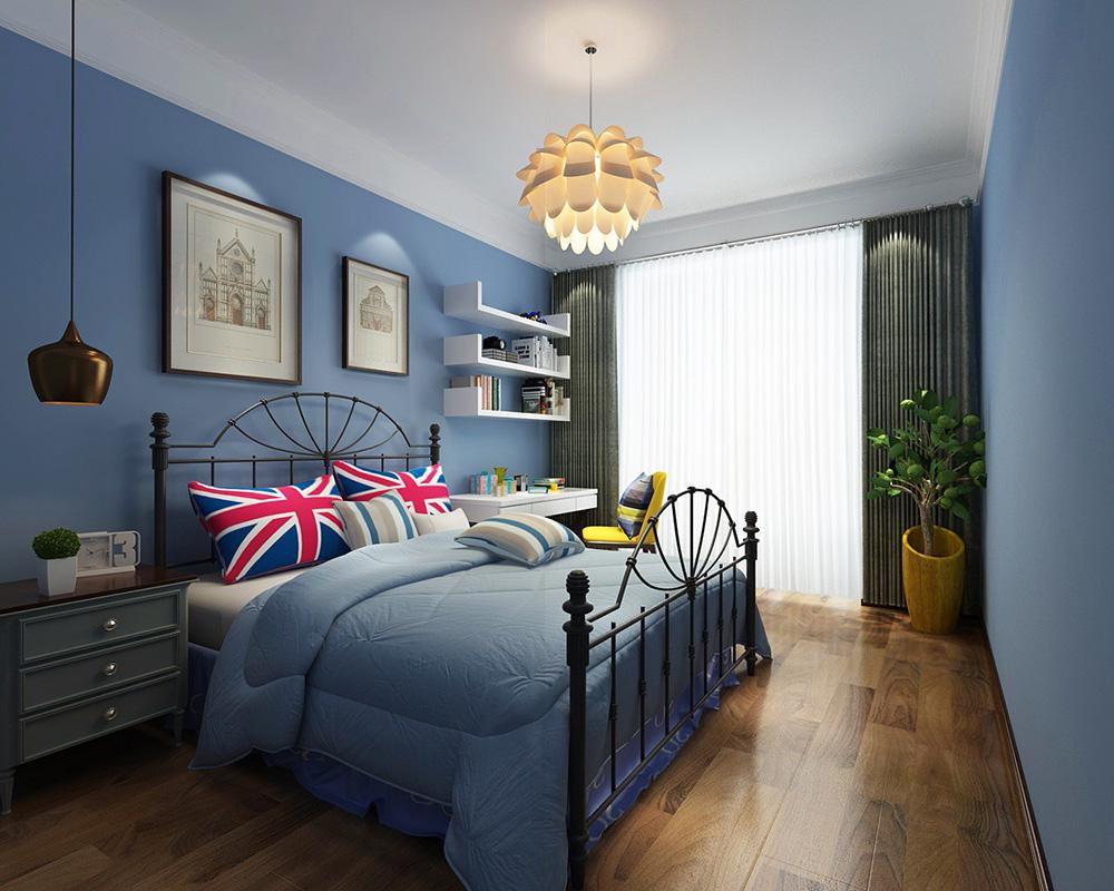 美式风格室内装修效果图-恒大御景半岛平层280平米-室内儿童房装修